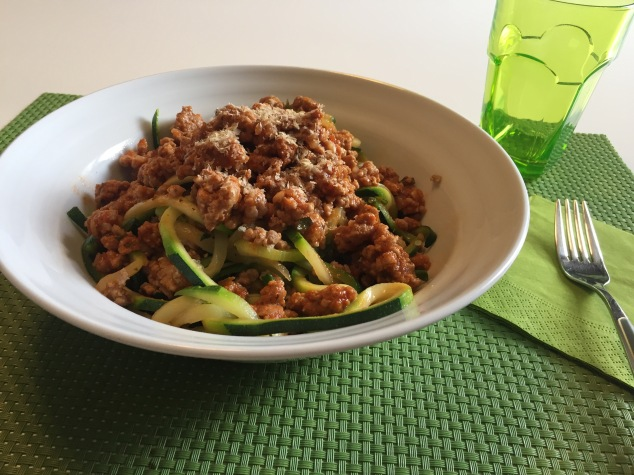 Zoodles Turkey Ragout